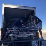 Collecting and transporting to storage